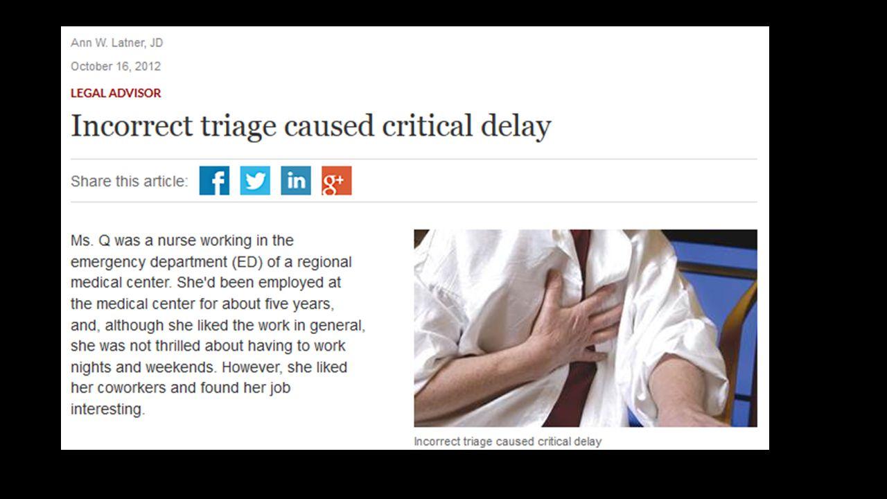 Olgu 1 61 yaşında, göğüs ağrısı 8:15 acil servise başvuru saati 8:18 de triajda değerlendirilmiş.