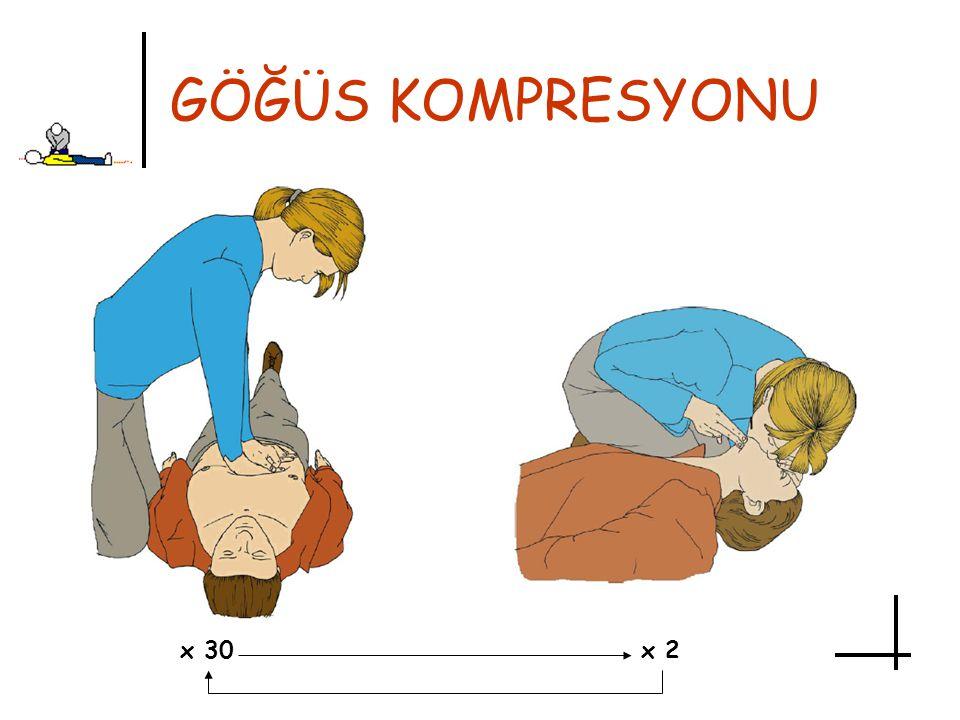 GÖĞÜS KOMPRESYONU x 30x 2