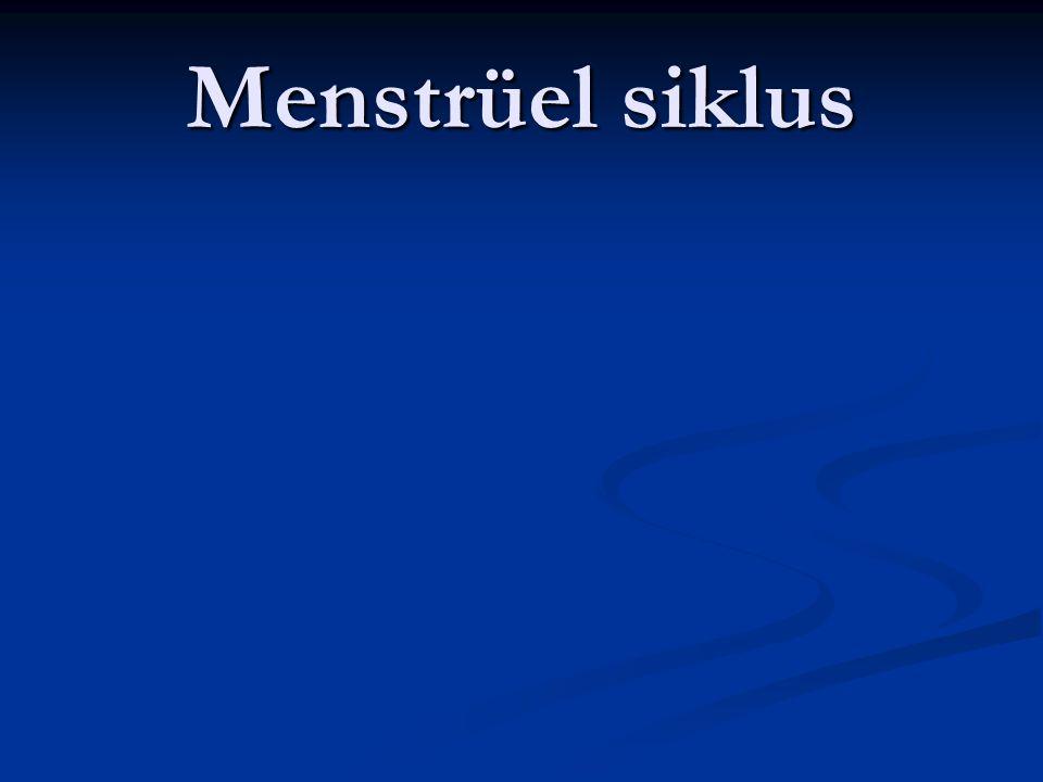 Menstrüel siklus