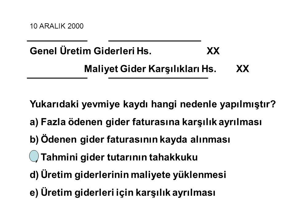 11 Kasım 2006 Direkt ilk Madde ve Malzeme Gideri + Direkt İşçilik Gideri + GÜG (değişken + sabit) kısmını içeren maliyet muhasebesi yöntemi hangisidir.