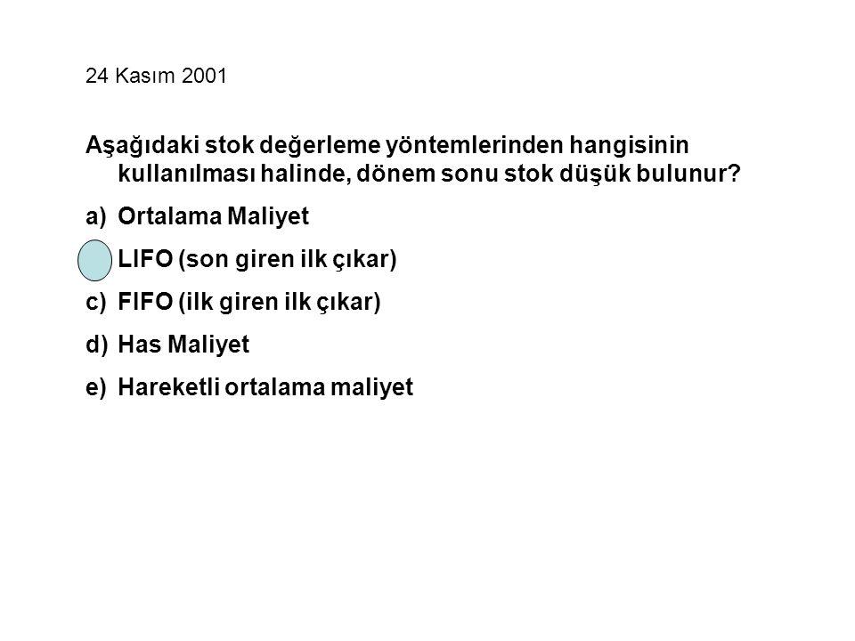 04 Temmuz 2004 Genel üretim giderleri ile Finanman Giderleri hesapları hangi işleve göre düzenlenmiştir.