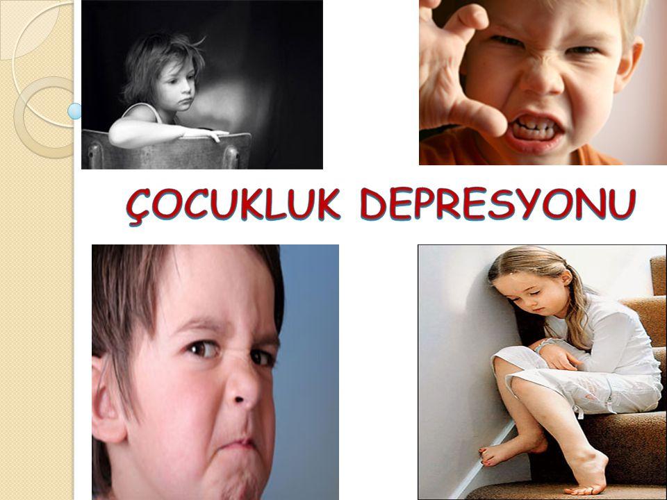 En şiddetli depresyon belirtileri ölüm ve intihar düşünceleridir.