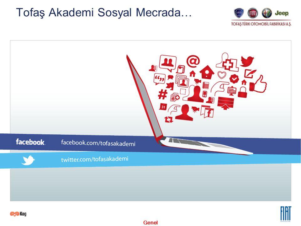 Genel Tofaş Akademi Sosyal Mecrada…