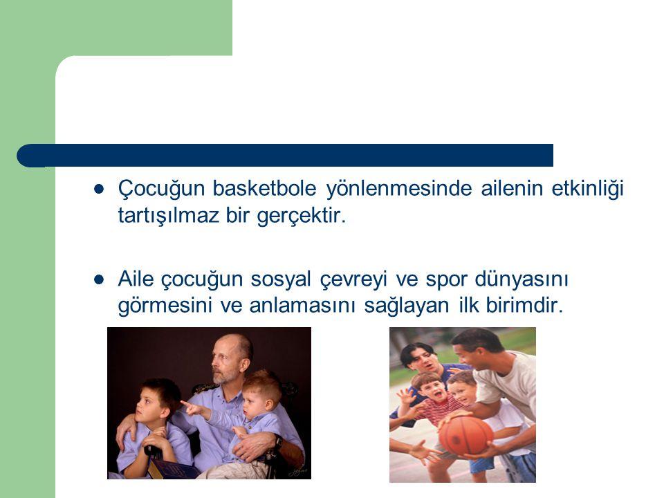 Beden Eğitimi Öğretmenlerinin Basketbole Yönlendirilmesi ve Motive Edilmesi Okullarda basketbolün yaygınlaşmasında ve gelişmesinde beden eğitimi öğretmenlerine önemli görevler düşmektedir.