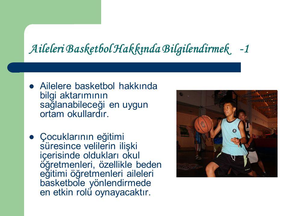 Beden Eğitimi Öğretmeni Adaylarının Üniversitede Basketbole Motive Etmek ve Yönlendirmek İçin Neler Yapılabilir.
