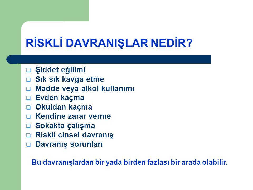MADDE KULLANAN KİŞİYİ ÖĞRETMEN / ANNE-BABA NASIL ANLAR.