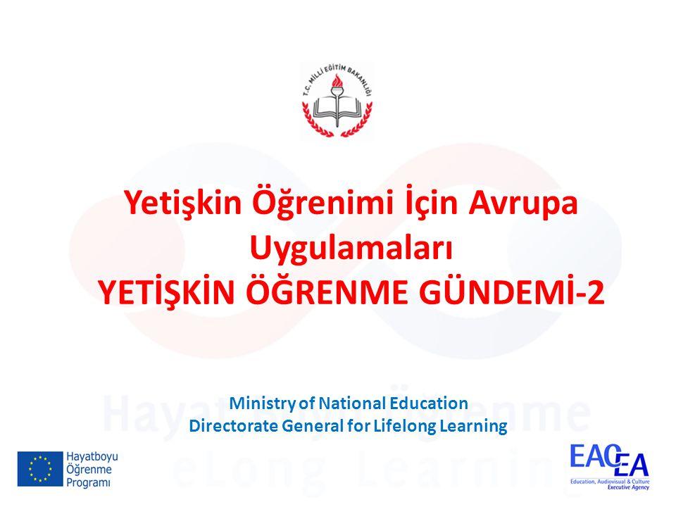 Gündem, Yetişkin Öğrenimi İçin Avrupa Uygulamaları hibe programı kapsamında yürütülmektedir.