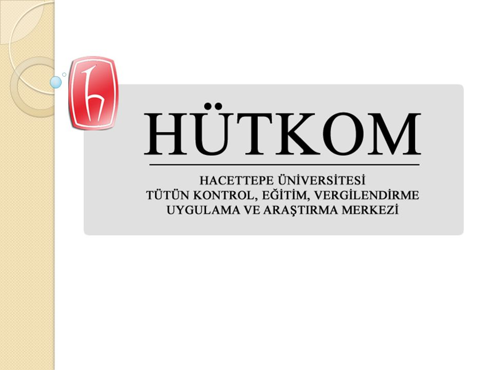 HÜTKOM Hacettepe Üniversitesi Tütün Kontrol, Eğitim, Vergilendirme Uygulama ve Araştırma Merkezi, 20 Haziran 2012 tarih ve 28239 sayılı Resmi Gazete de yayınlanan sayısı ile faaliyetlerine başlamıştır.