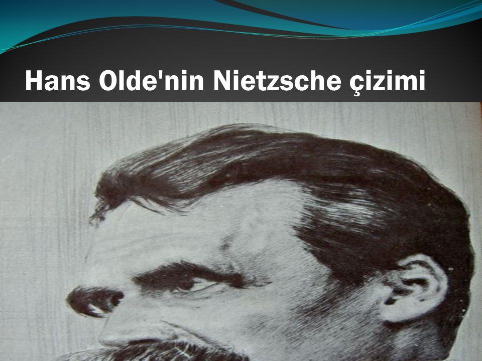 Hans Olde'nin Nietzsche çizimi