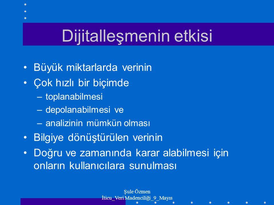Şule Özmen İticu_Veri Madenciliği_9_Mayıs Neden Veri Madenciliği.