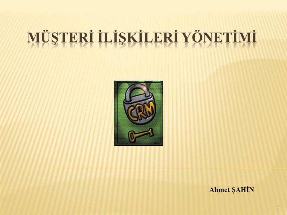 Ahmet ŞAHİN 1