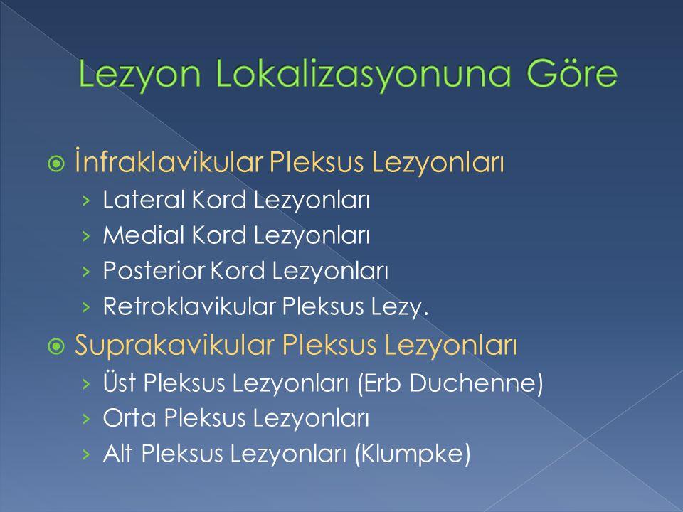  İnfraklavikular Pleksus Lezyonları › Lateral Kord Lezyonları › Medial Kord Lezyonları › Posterior Kord Lezyonları › Retroklavikular Pleksus Lezy.
