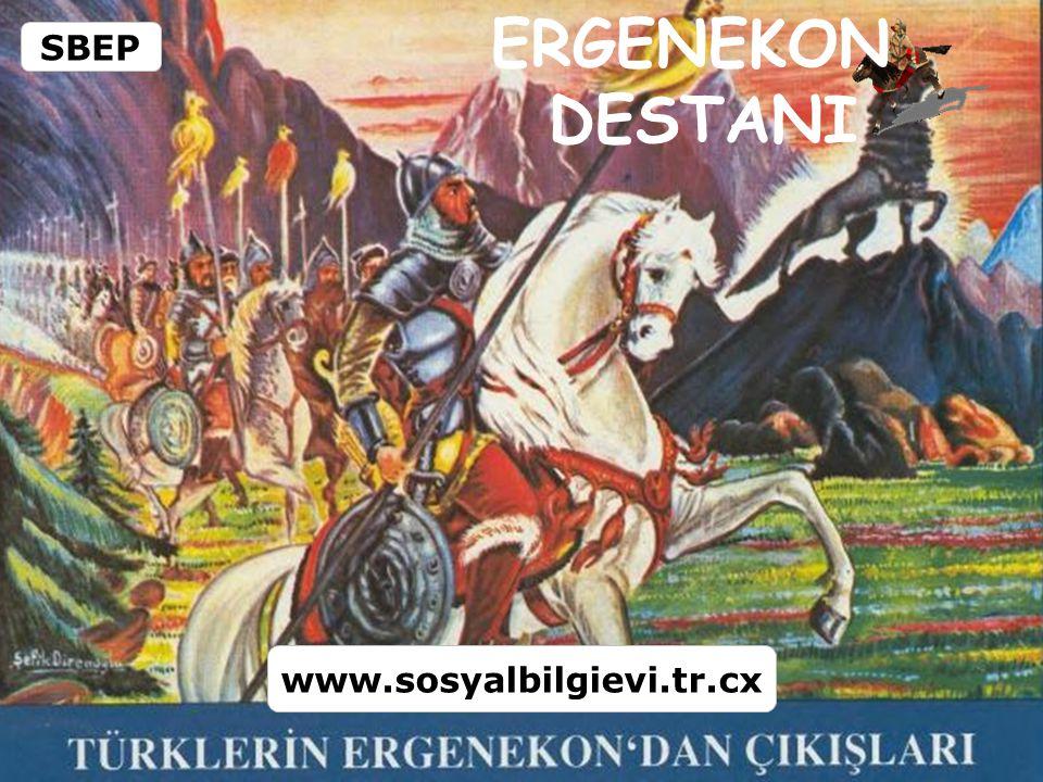 Ergenekon Destanı, Büyük Türk Destanı 'ndan bir parçadır.