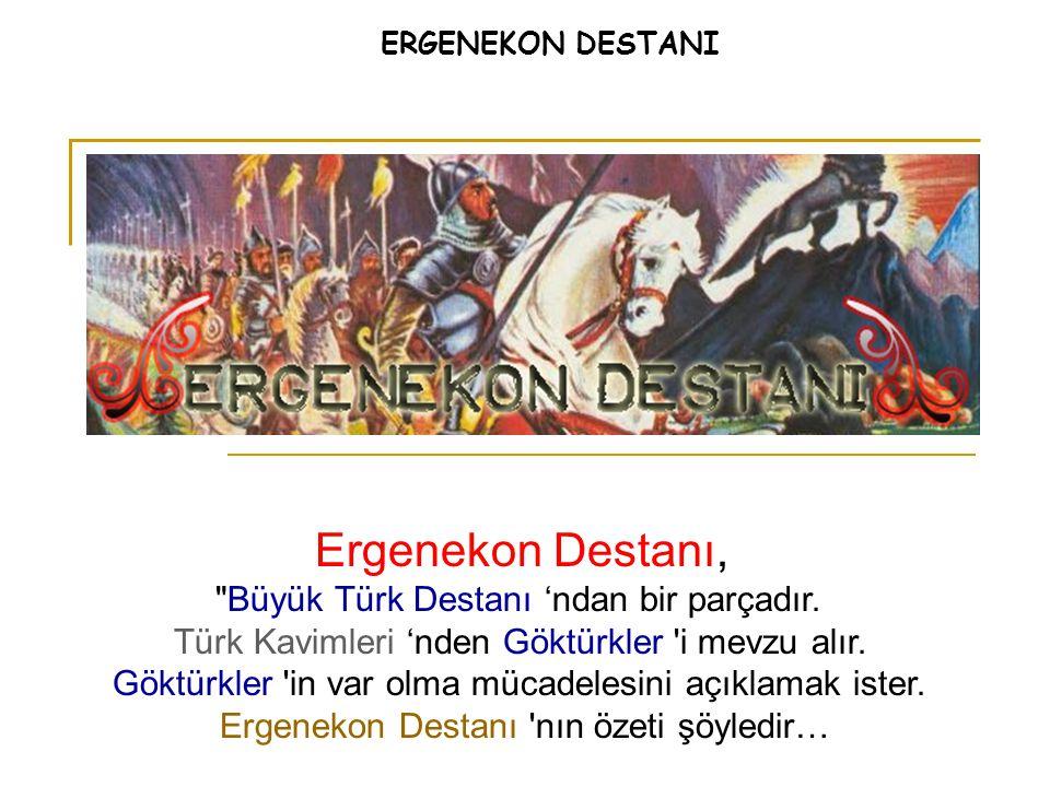 İki Göktürk Prensi 'nin Ergenekon da çocukları çoğaldı… Kayı Han ın çok çocuğu oldu.