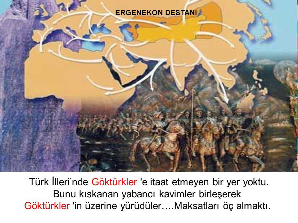 Dört yüzyıl sonra kendileri ve sürüleri o kadar çoğaldı ki, Ergenekon a sığmaz oldular.