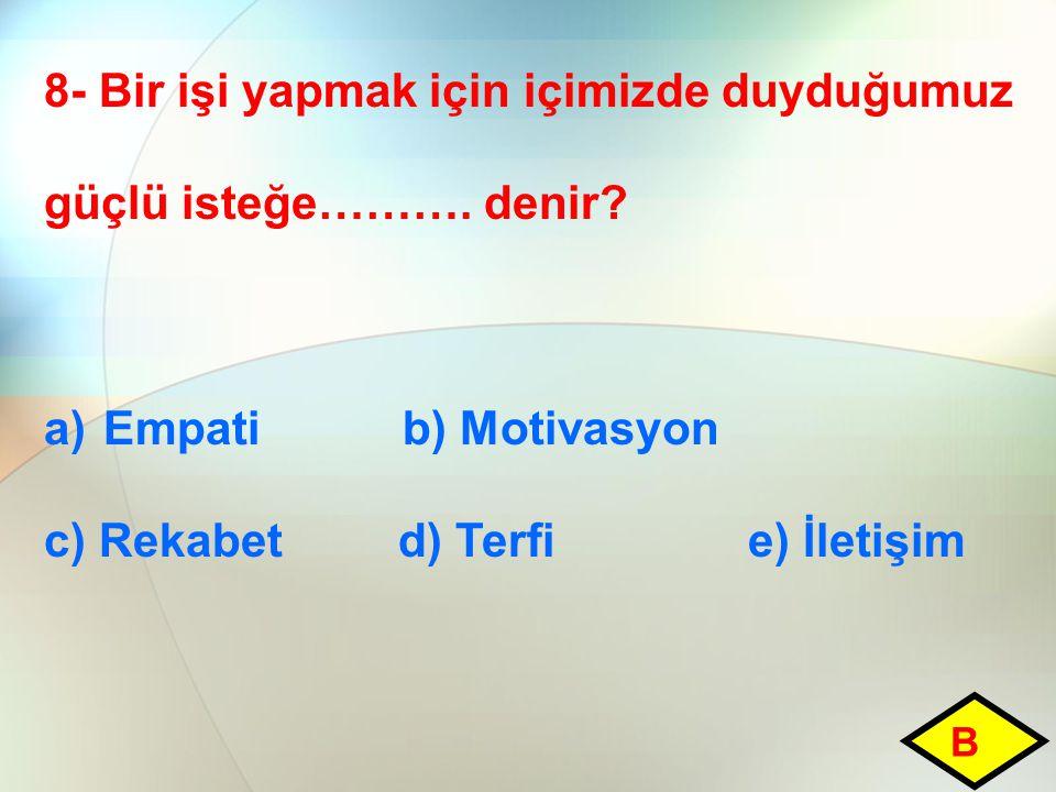 9- Aşağıdakilerden hangisi devriyenin tanımında yer alır.