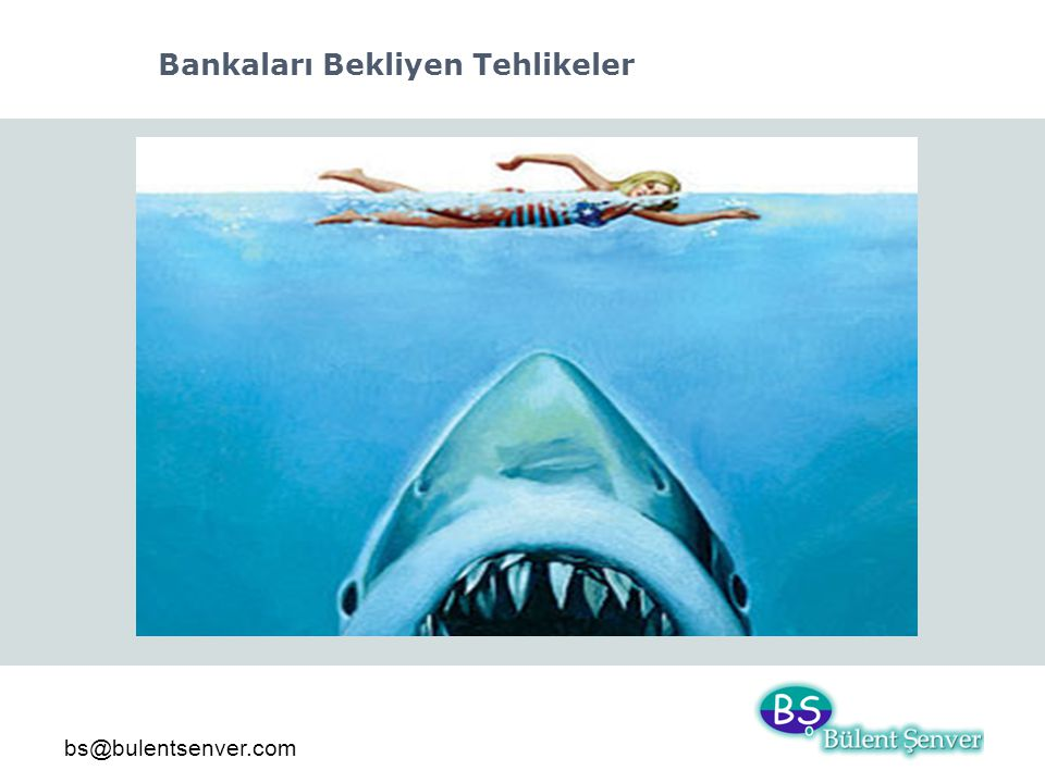 bs@bulentsenver.com Bankaları Bekliyen Tehlikeler