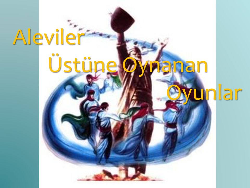 1.KENDİNİ KÜRT SANAN ALEVİ TÜRKMENLER Anadolu Alevileri aslen Kızılbaş-Türkmenlerdir.