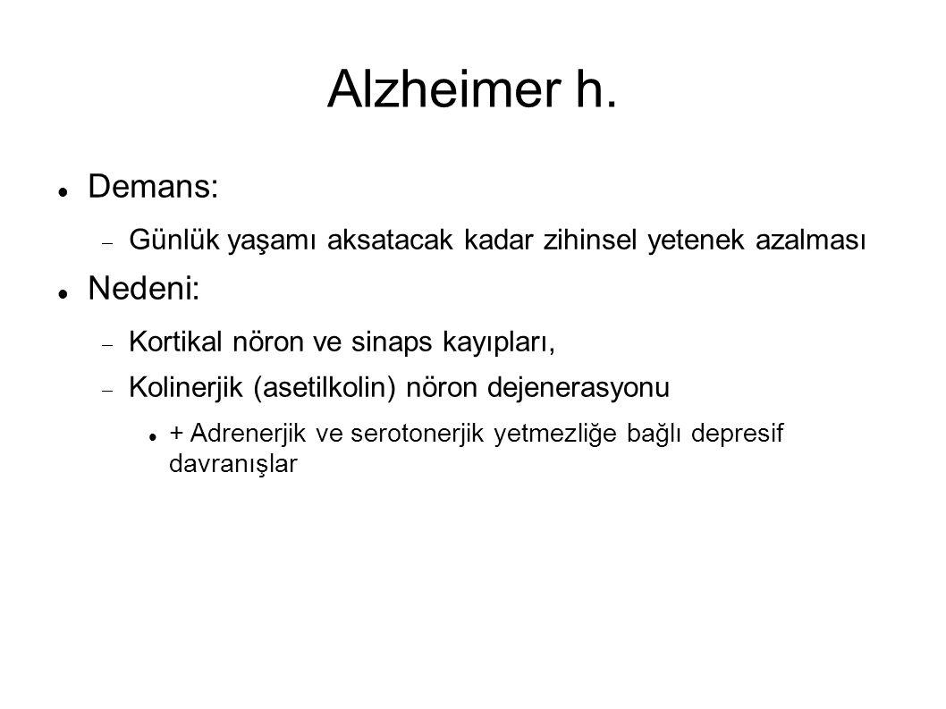 Alzheimer h.
