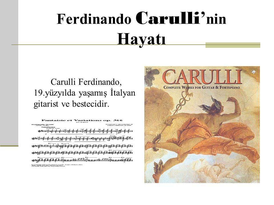 Carulli F erdinando (1770- 1841) www.muzikegitimcileri.net