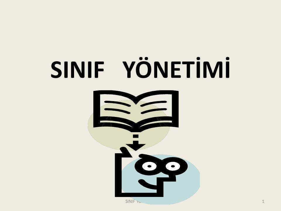 SINIF YÖNETİMİ 1