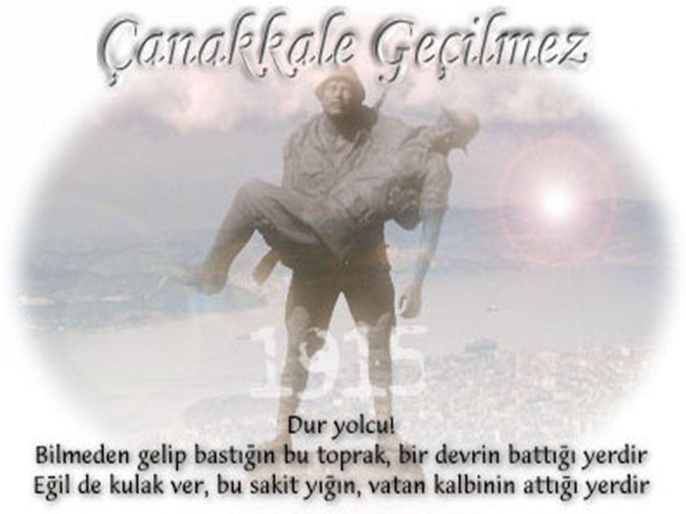 Ey şehid oğlu şehid, isteme benden makber, Sana ağuşunu açmış duruyor Peygamber. Mehmet Akif Ersoy