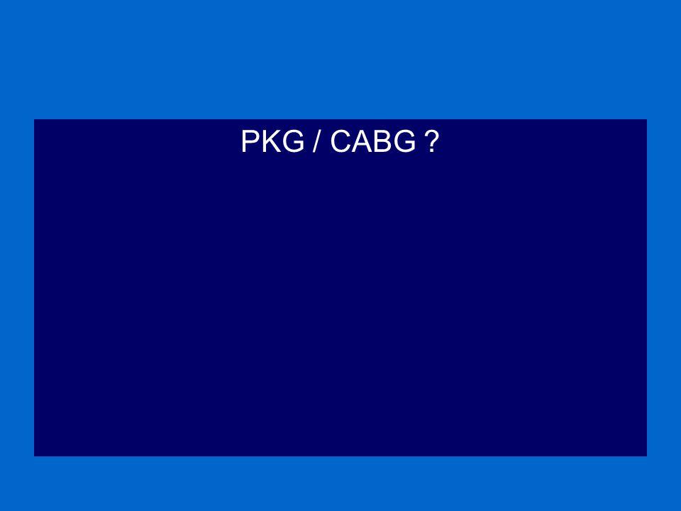 PKG / CABG ?