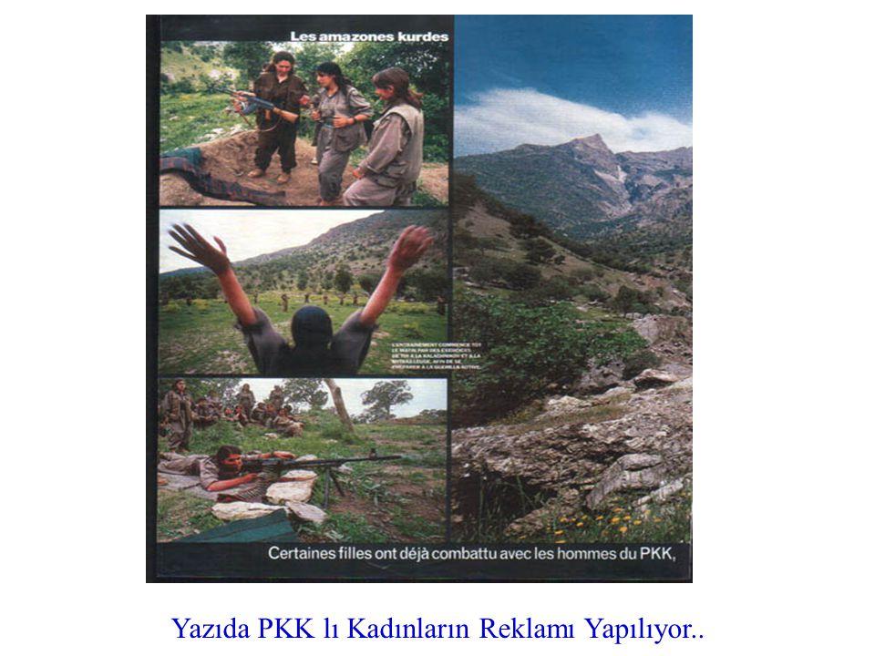 Hayali Kürdistan Coğrafyasından Bahsediliyor..