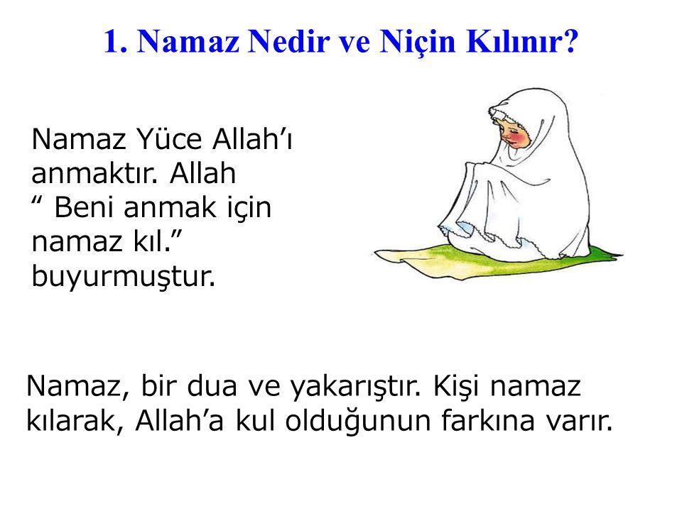 1.Namaz Nedir ve Niçin Kılınır. Namaz kimlere farz kılınmıştır.