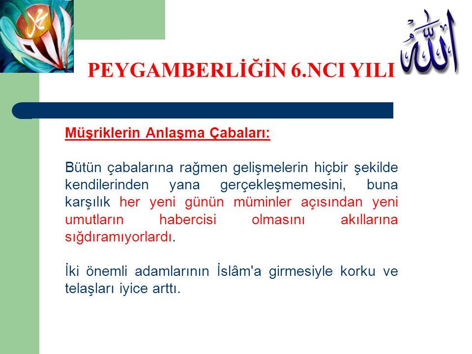 Müşriklerin Anlaşma Çabaları: Resulüllah, Utbe b.