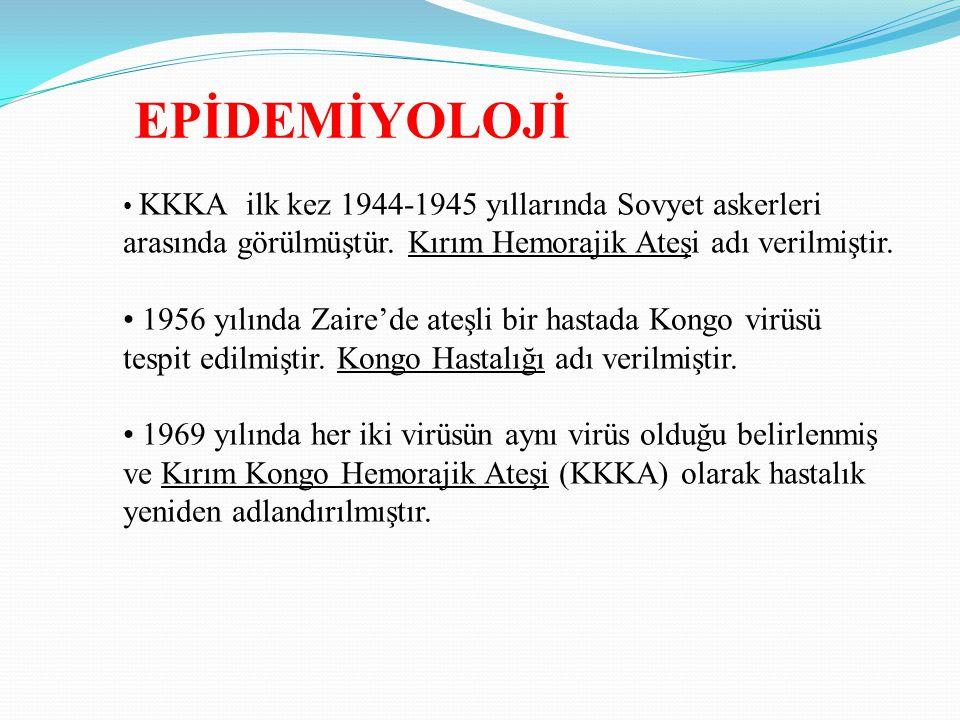 Ülkemizde, İlk kez 2002 yılında Tokat yöresinde görülmüş, 2003 yılında hastalık tanımlanmıştır.
