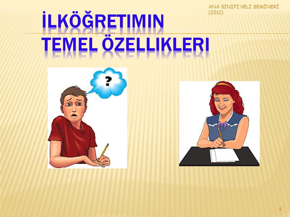 ANA SINIFI VELİ SEMİNERİ (2012) 6