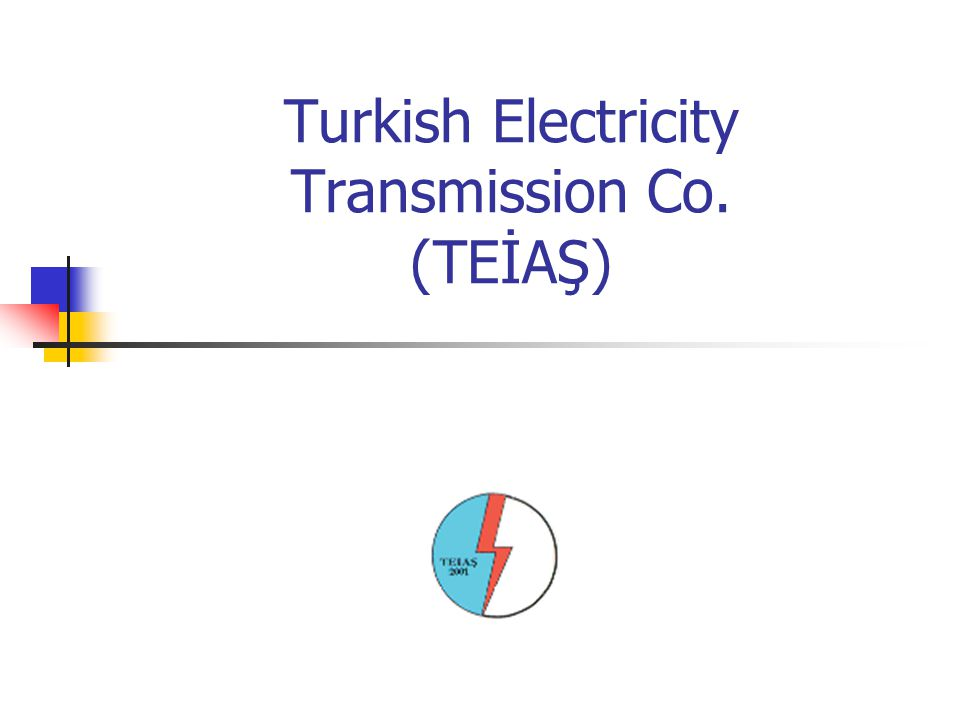 Turkish Electricity Transmission Co. (TEİAŞ)