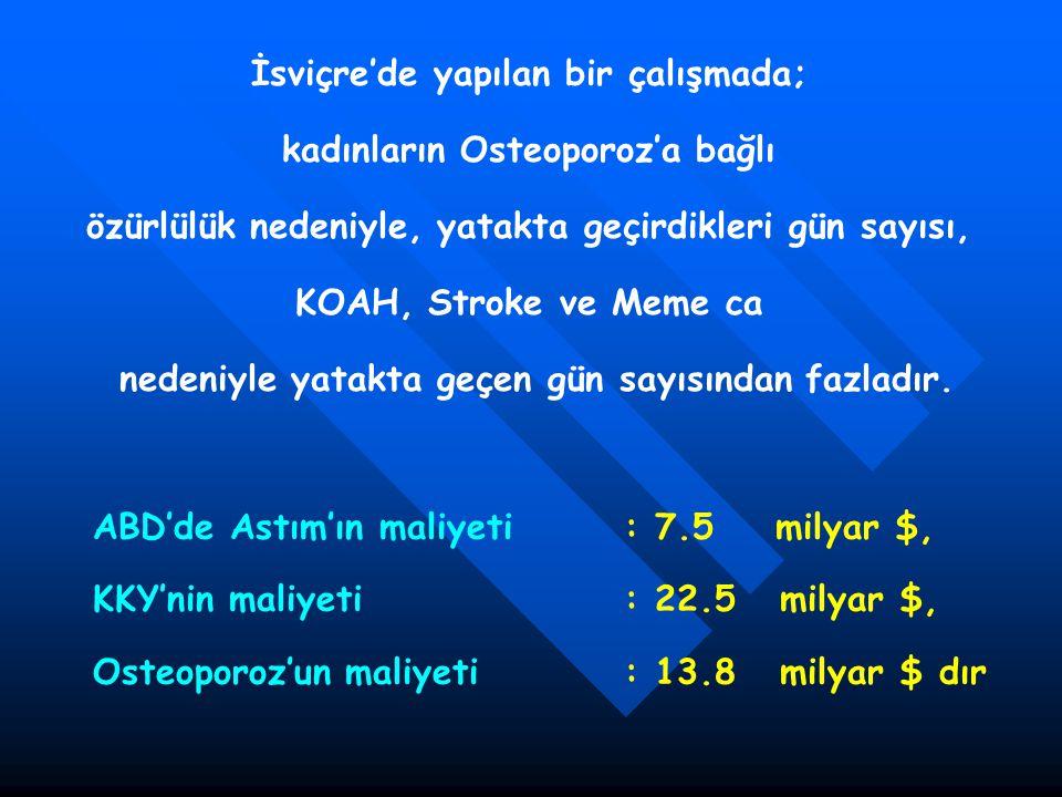 ORAG-Kırık Etkinliği Vertebral Kırıklar Girişim Çalışma Sayısı (Hastalar) Relatif Risk (95% CI) Relatif Risk P-değeri Hetero- jenite Alendronat 5-40 mg8 (9360)0.52 (0.43 to 0.65)< 0.010.99 Etidronat 400 mg9 (1076)0.63 (0.44 to 0.92)0.020.87 Raloksifen2 (6828)0.60 (0.50 to 0.70)0.01n/a Risedronat5 (2604)0.64 (0.54 to 0.77)0.010.89 Kalsitonin1 (1108)0.79 (0.62 to 1.00)0.05n/a Kalsiyum5 (576)0.77 (0.54 to 1.09)0.140.40 HRT5 (3117)0.66 (0.41,1.07)0.120.86 Vitamin D8 (1130)0.63 (0.45 to 0.88)< 0.010.16 Endocr Rev 2002;23(4):570-8