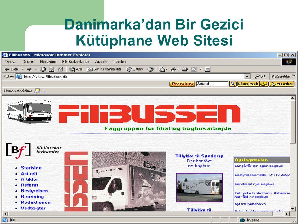 Danimarka'dan Bir Gezici Kütüphane Web Sitesi
