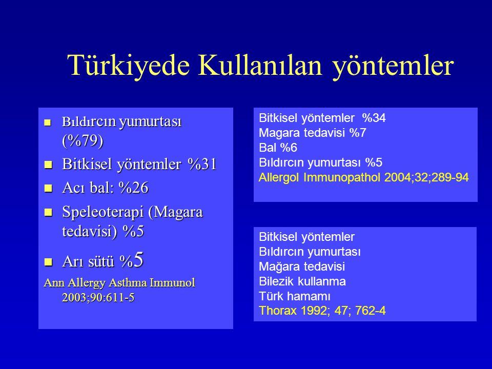 Türkiyede Kullanılan yöntemler Bıldı rcın yumurtası (%79) Bıldı rcın yumurtası (%79) Bitkisel yöntemler %31 Bitkisel yöntemler %31 Acı bal: %26 Acı ba