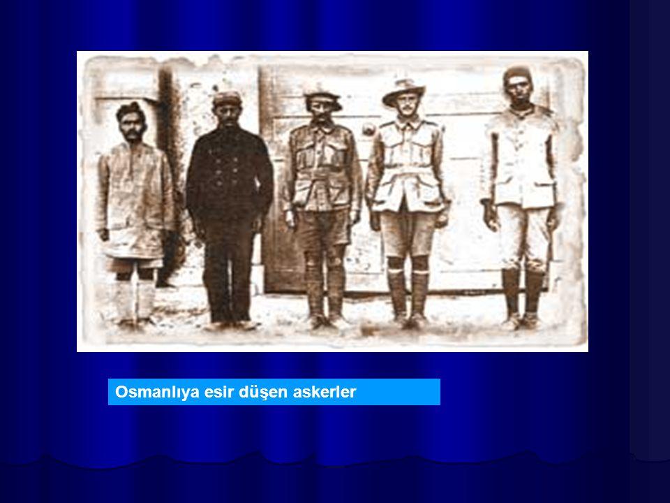 Osmanlıya esir düşen askerler