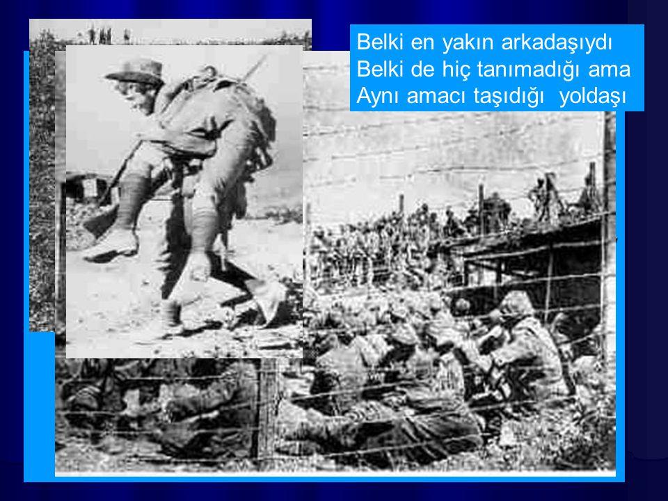 25 Nisan'da düşman, bu kez karadan geçmeye çalıştı Çanakkale'yi.... Sömürgelerinden topladığı masum insanları, bilmedikleri bir amaç için, hiç tanımad