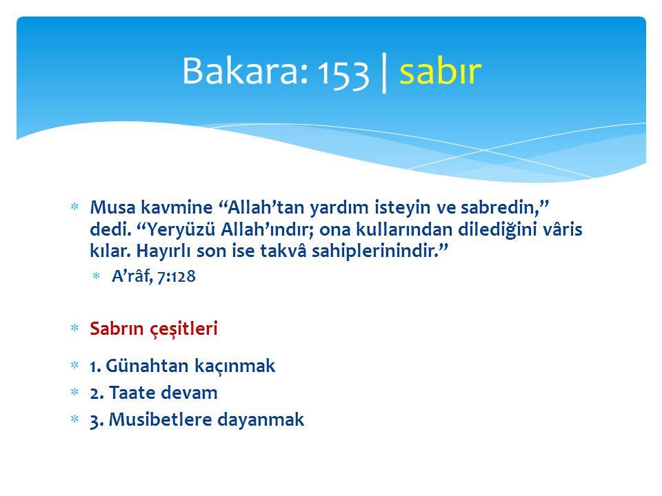  Sana vahyedilene uy; Allah hükmünü verinceye kadar sabret.