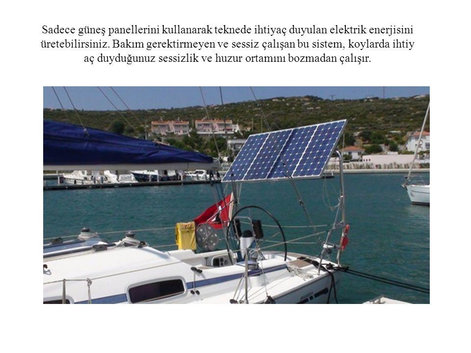 ® Güneş Panelleri ve Solar Marine ® Rolbar www.solarmarinepower.com