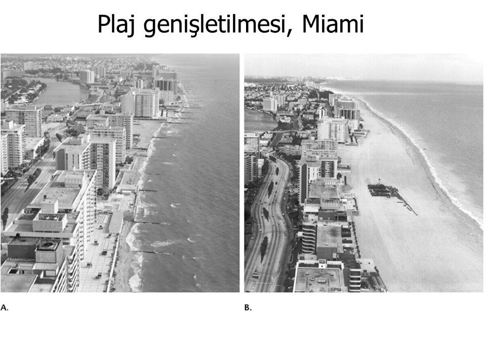 GENEL JEOLOJİ -DENİZLER VE KIYILARGENEL JEOLOJİ -DENİZLER VE KIYILAR Prof. Dr. Yaşar EREN-2012 Plaj genişletilmesi, Miami