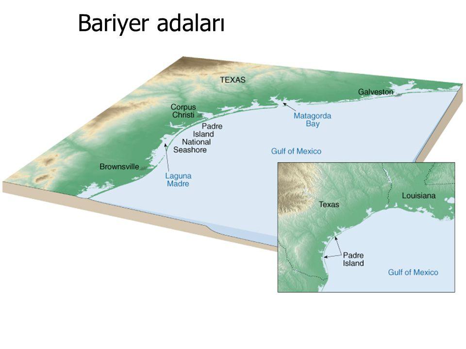 GENEL JEOLOJİ -DENİZLER VE KIYILARGENEL JEOLOJİ -DENİZLER VE KIYILAR Prof. Dr. Yaşar EREN-2012 Bariyer adaları