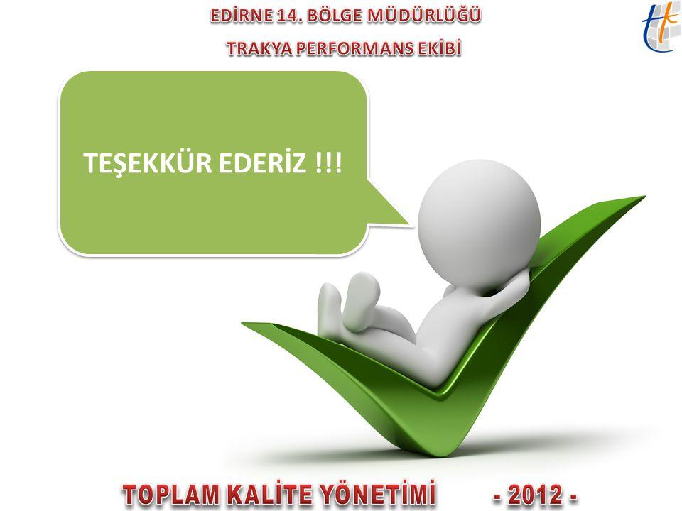 TEŞEKKÜR EDERİZ !!!