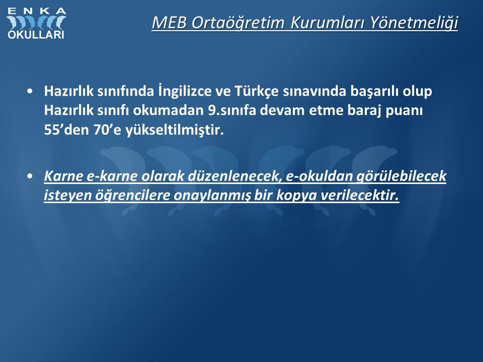 MEB Ortaöğretim Kurumları Yönetmeliği Topluma hizmet çalışmaları teşvik edilmiştir.