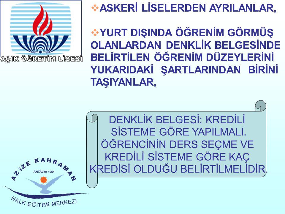  MESLEK LİSELERİNİN 9.