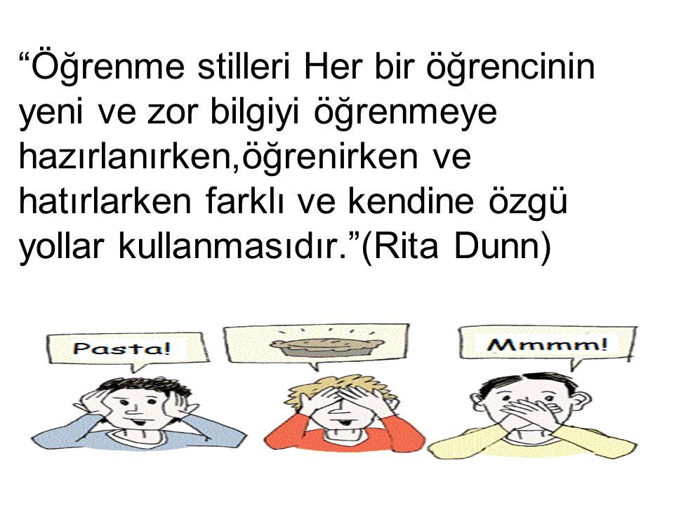 ÖĞRENME STİLLERİ NEDEN ÖNEMLİ.