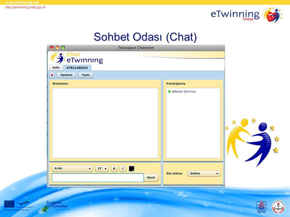 Sohbet Odası (Chat)
