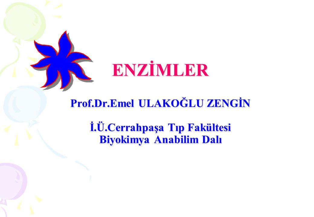 5.İZOMERAZLAR Optik ve geometrik izomerlerin rasemizasyonunu katalizleyen enzimlerdir.