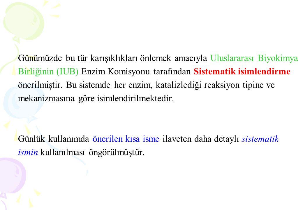 SİSTEMATİK İSİMLENDİRMENİN TEMEL ÖZELLİKLERİ 1.