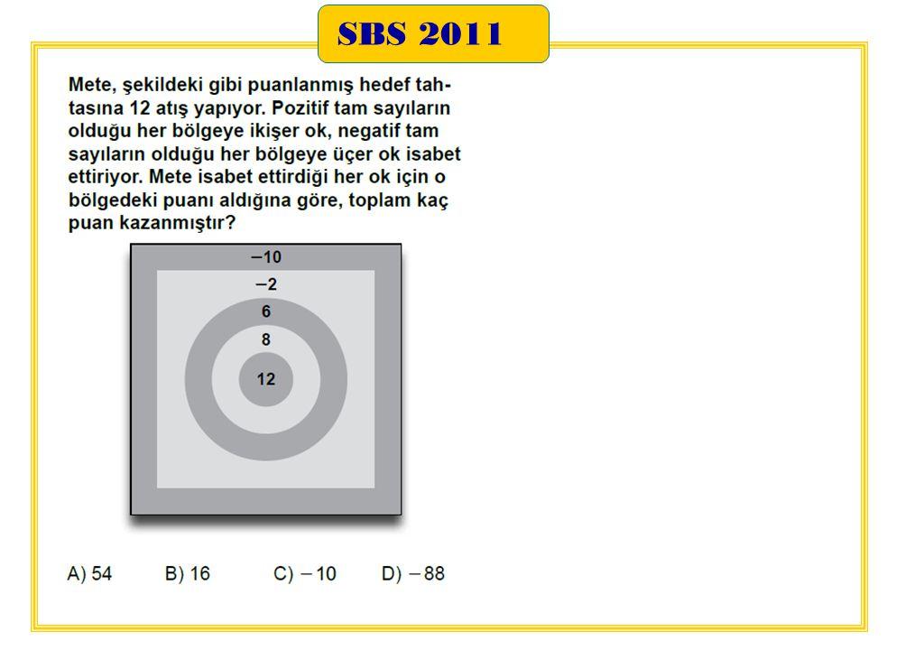 SBS 2011